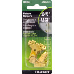 Hillman Brass Plated Assorted Hanging Hooks