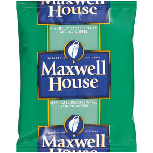 MAXWELL HOUSE Decaffeinated Roast & Ground Coffee, 1.1 oz. Packets (Pack of 42) image