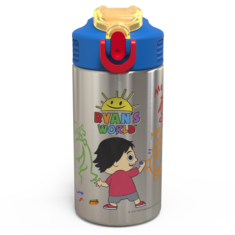 Ryan's World 15.5 ounce Water Bottle, Ryan & Friends