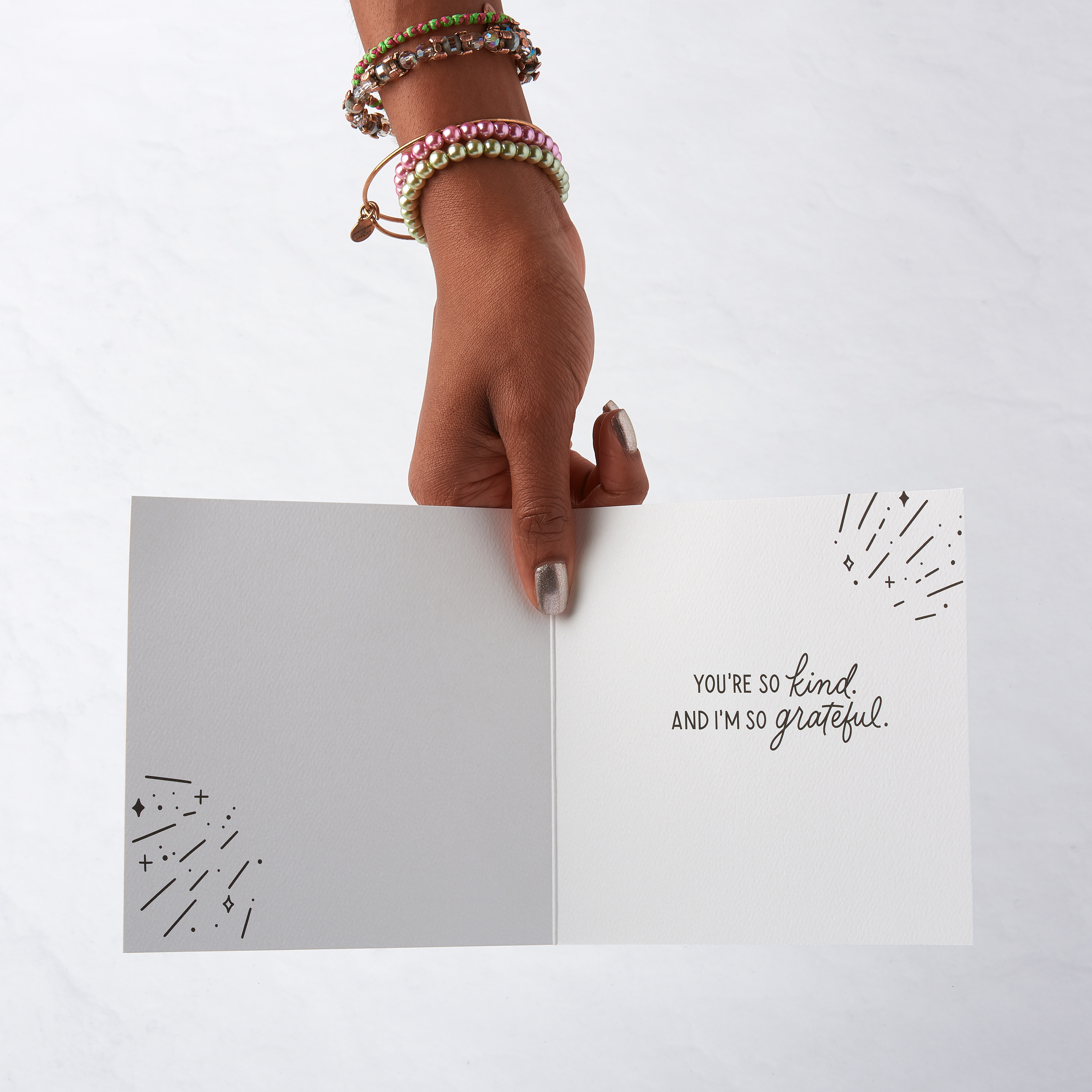 Thank You Christmas Cards, 6-Count image