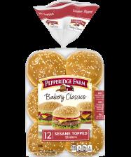 (15.5 ounces) Pepperidge Farm® Bakery Classics Sesame Slider Buns