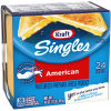 Kraft Singles American Cheese Slices, 16 oz Pre-Sliced (24 slices)