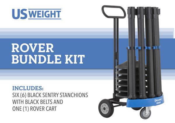 Rover Cart Bundle - Sentry with Black Belts 2