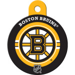 Boston Bruins Large Circle ID Spot Tag