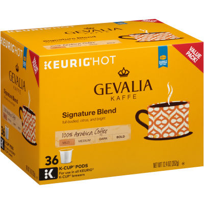 Gevalia Signature Blend K Cup Coffee Pods, 36 ct Box