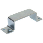 Zinc Plated Bar Holders Closed