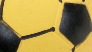 "Rascals 3"" Latex Soccer Ball Dog Toy"