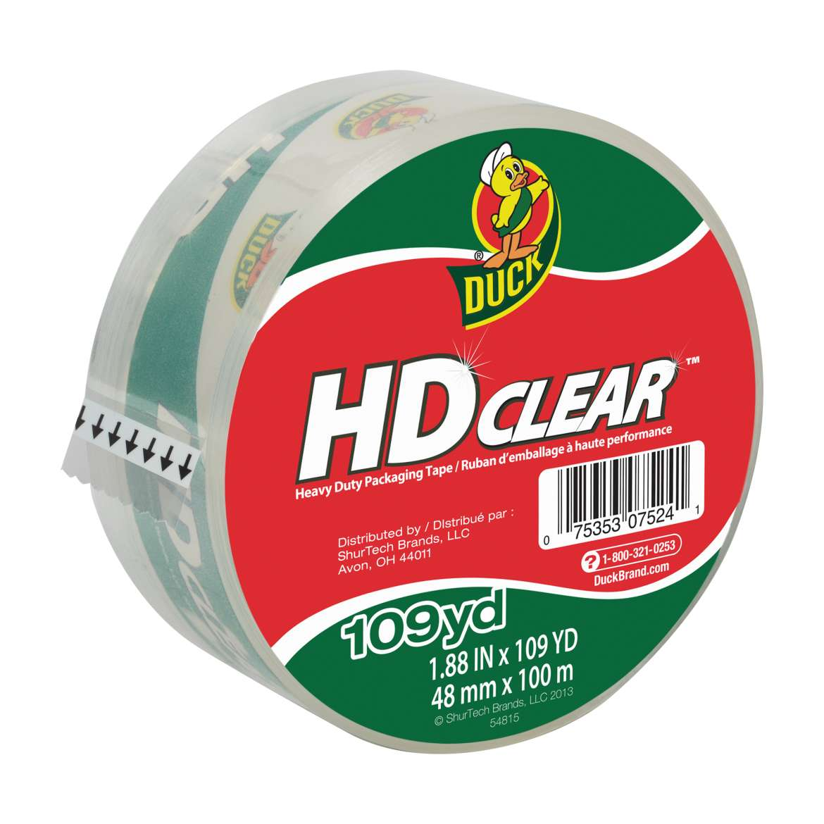 HD Clear™ Heavy Duty Packaging Tape