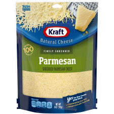Kraft Parmesan Finely Shredded Natural Cheese 6 oz Pouch