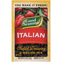 Good Seasons Italian Dry Salad Dressing and Recipe Mix 0.7oz single packet