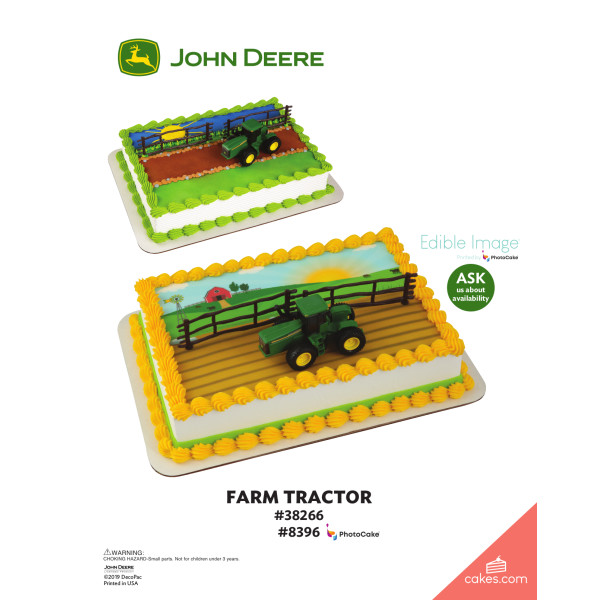 John Deere Tractor DecoSet® The Magic of Cakes® Page