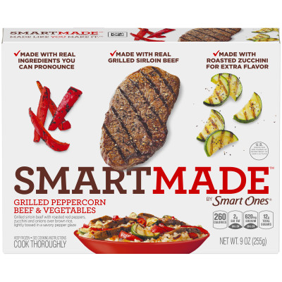 Smart Ones Smart Made Grilled Peppercorn Beef & Vegetables 9 oz Box