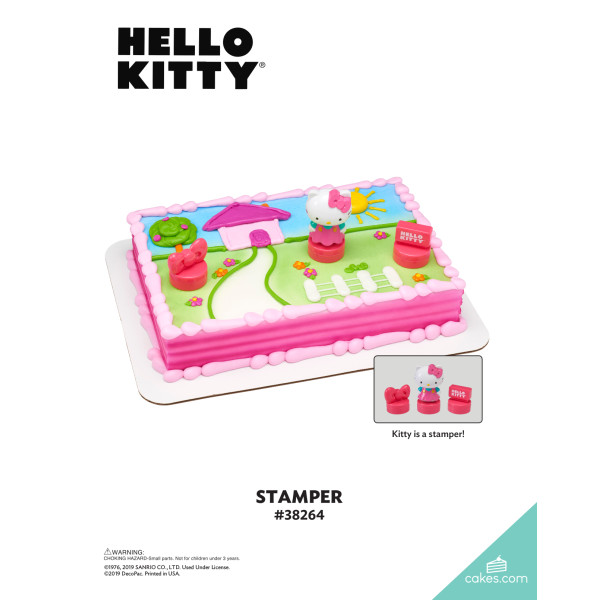 Hello Kitty® Stamper DecoSet® The Magic of Cakes® Page