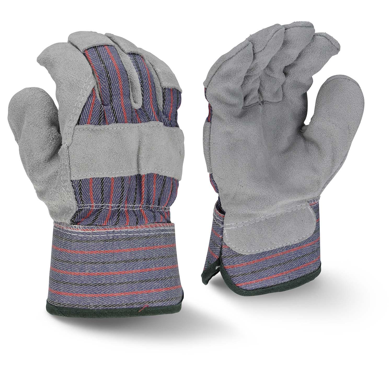 Radians RWG3205 Fleece Lined Regular Shoulder Gray Split Cowhide Leather Glove