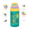Zak Hydration 16 ounce Water Bottle, Cactus, Flamingos and Pineapples, 2-piece set slideshow image 4