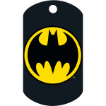 Batman Logo Large Military ID Quick-Tag