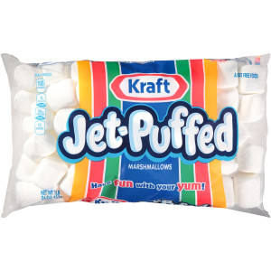 JET-PUFFED Regular Marshmallows, 16 oz. Bag (Pack of 12) image