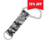 Carabiner Strap (Gray Camo)