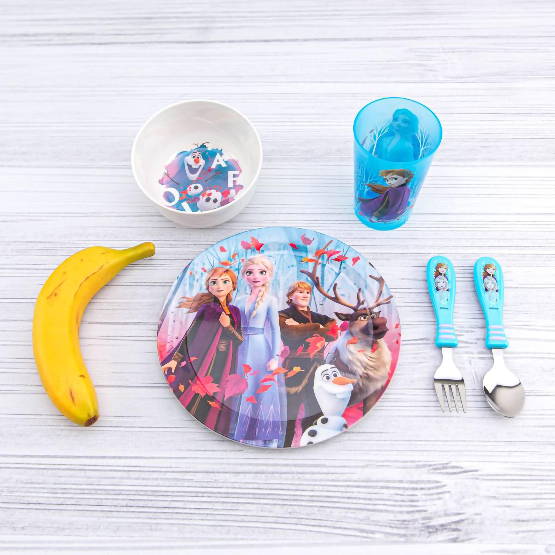 Disney Frozen 2 Movie Dinnerware Set, Anna, Elsa and Friends, 5-piece set slideshow image 11