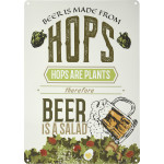 "Beer is a Salad Novelty Sign (10"" x 14"")"