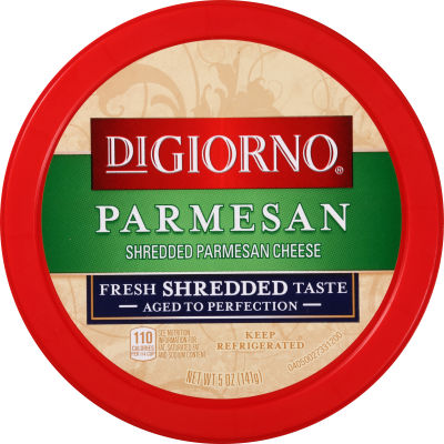 DiGiorno Shredded Parmesan Cheese 5 oz Tub