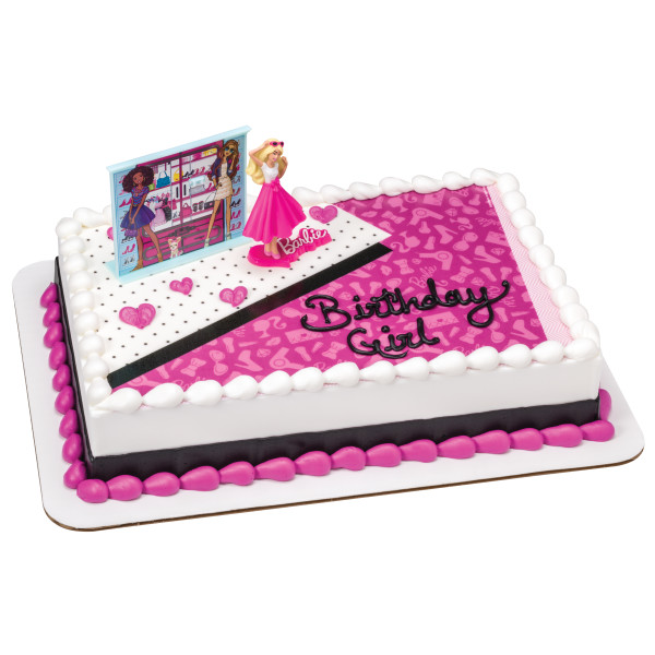 Barbie™ Love to Sparkle PhotoCake® Edible Image® DecoSet® Background