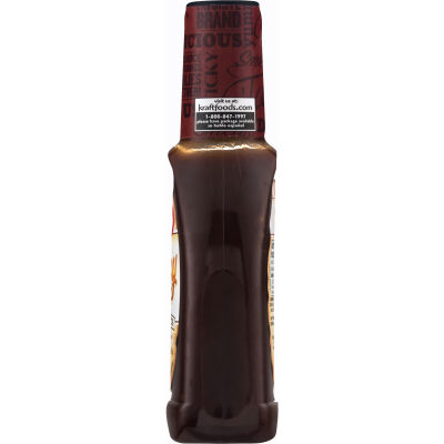 Kraft Honey Barbecue Sauce 17.5 oz Bottle