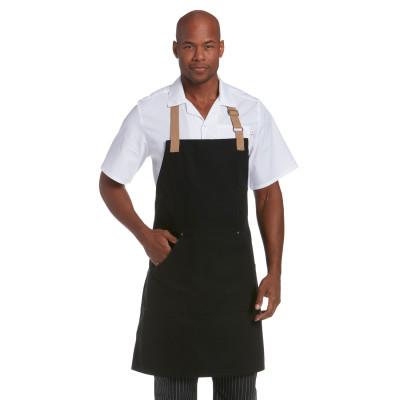 Canvas Multi Pocket Market Bib Apron-Chefwear