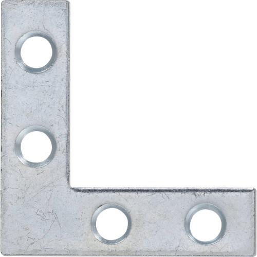 Hardware Essentials Flat Corner Iron Zinc 1-1/2