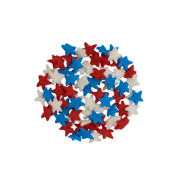 Mini Red, White & Blue Stars Quins