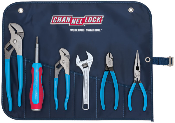 GP-7 6pc Professional Tool Set with Tool Roll