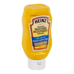 HEINZ Yellow Mustard Inverted Bottle 375ml 24 image