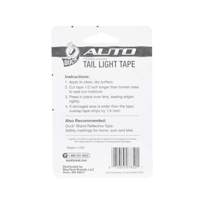 Tail Light Tape