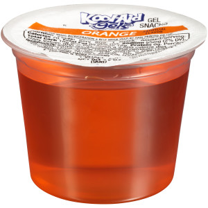 KOOL-AID Orange Gels, 3.5 oz. Cups (4/12 Count) image