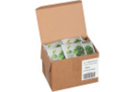 steep cafe by Bigelow full leaf mint herbal tea pyramid bag in overwrap