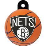 Brooklyn Nets Large Circle Quick-Tag
