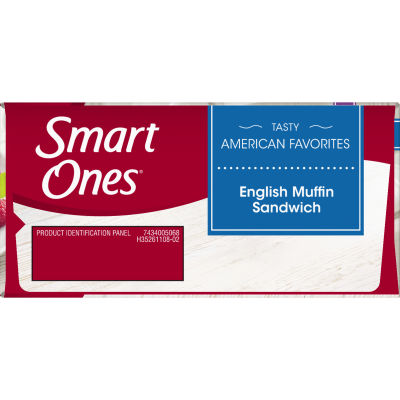 Smart Ones Tasty American Favorites English Muffin Sandwiches 2 - 4 oz Boxes