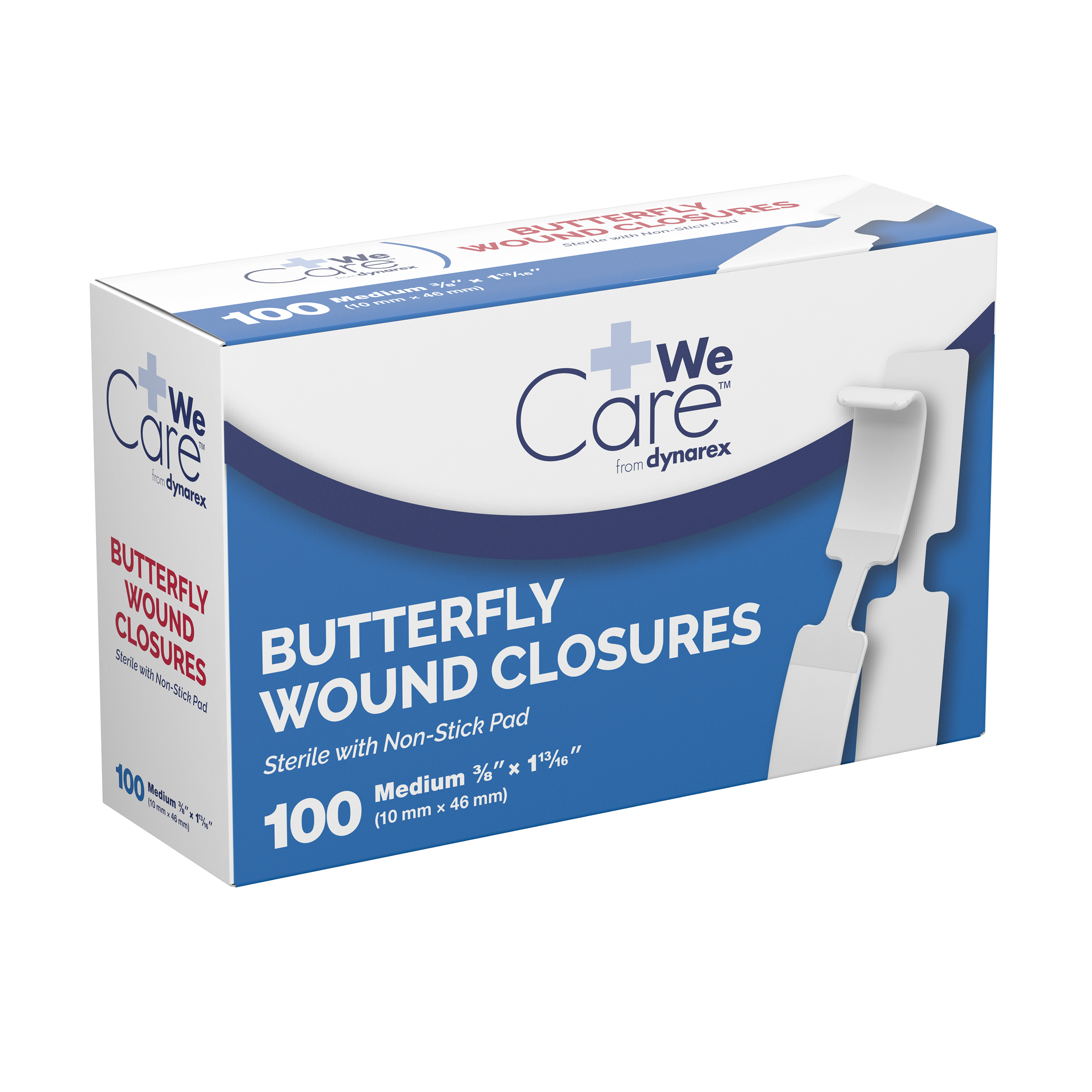 Butterfly Wound Closure Sterile - 3/8