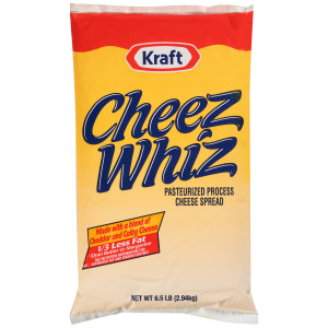 CHEEZ WHIZ Spread Pouch, 6.5 lbs. (Pack of 6) image