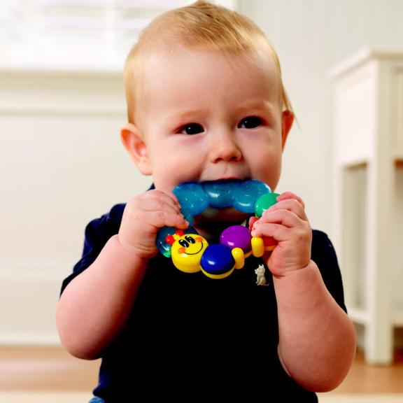 Caterpillar Rattle & Teethe™ Toy