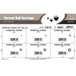 "Chrome Ball Bearings Assortment (5/32"" thru 7/16"")"