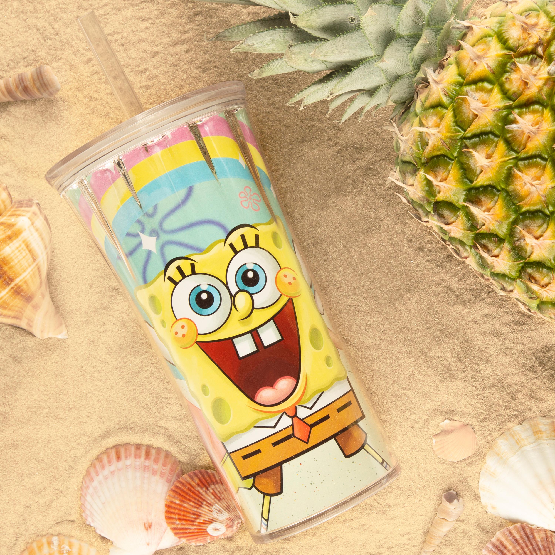 Nickelodeon 20 ounce Insulated Tumbler, SpongeBob SquarePants slideshow image 3