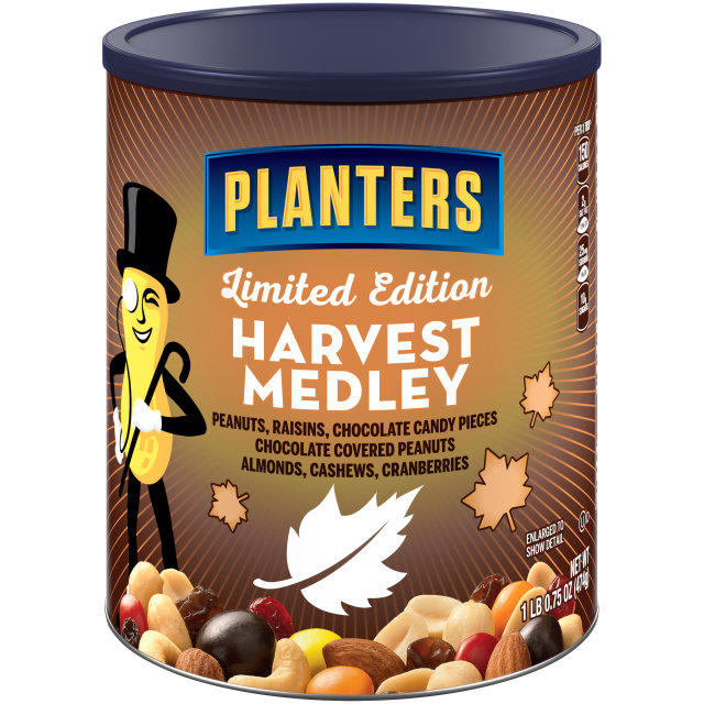 PLANTERS Harvest Medley Mix 16.75 oz Can image