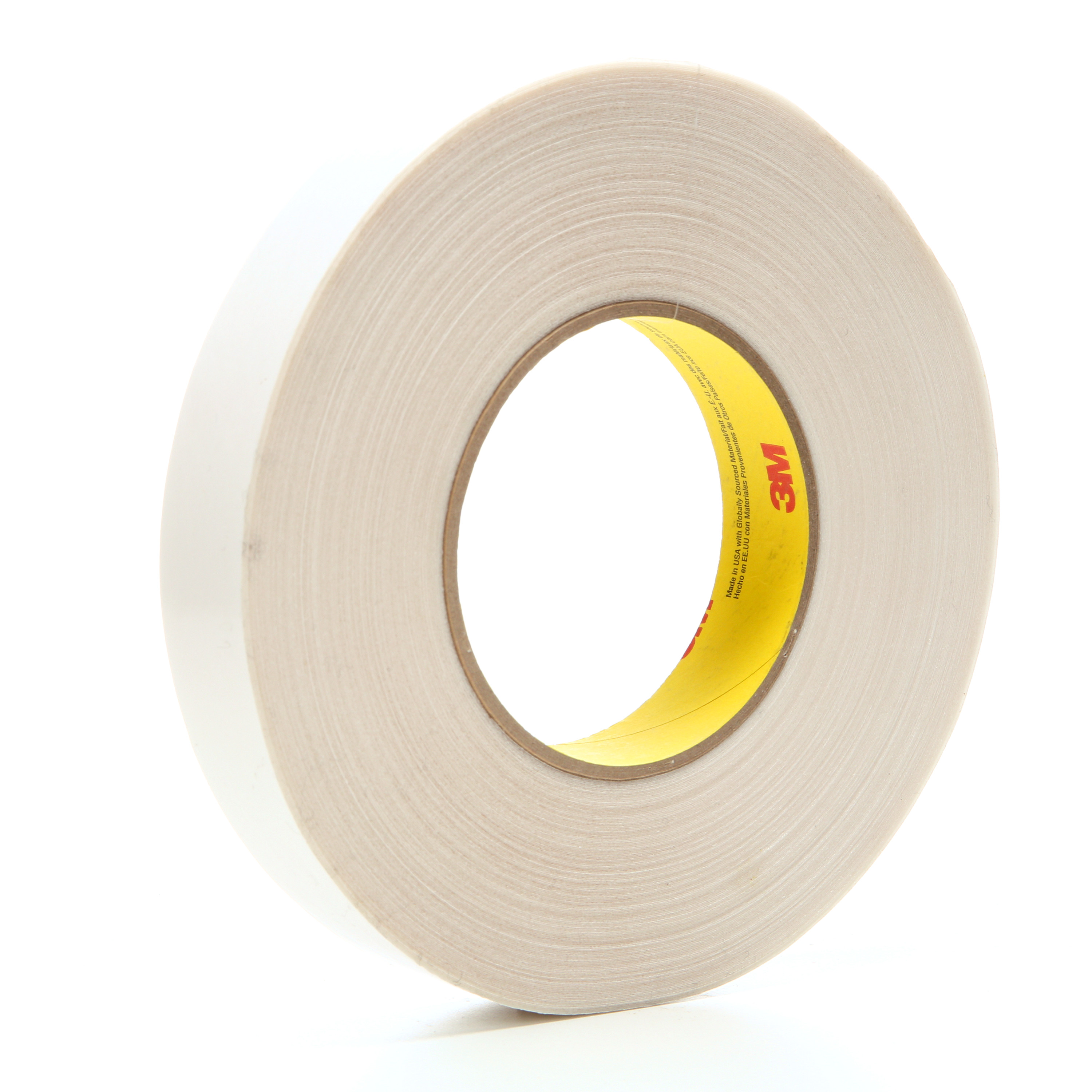 3M™ Double Coated Tape 9741, Clear, 24 mm x 55 m, 6.5 mil, 48 rolls per case