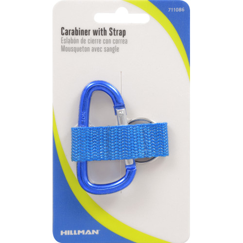 Hillman Carabiner with Strap