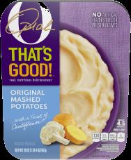 O That's Good Original Mashed Potatoes 20 oz Tray