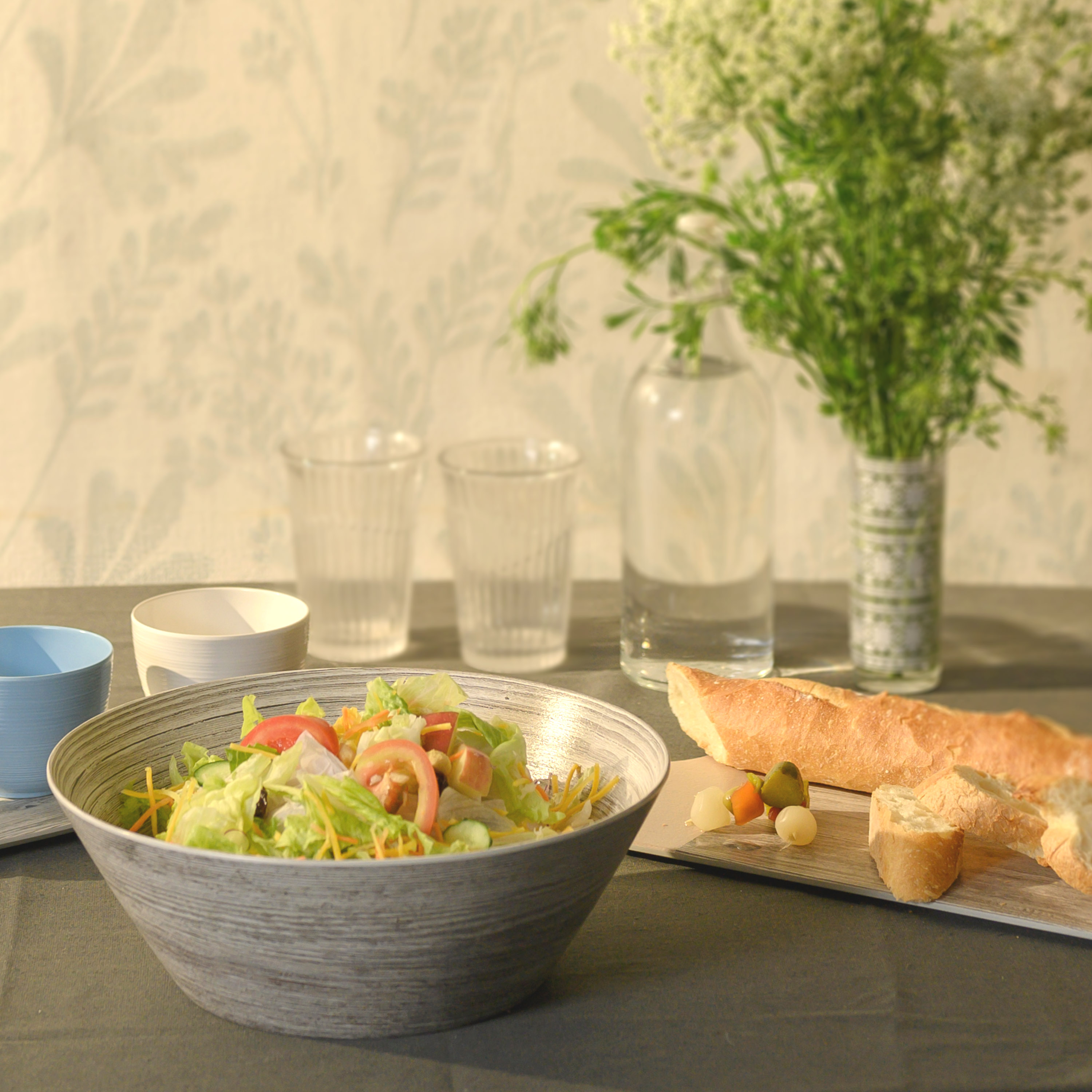 Zak Style Serving and Dip Bowls, Assorted Colors, 4-piece set slideshow image 2