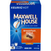 Maxwell House Breakfast Blend Ground Coffee K-Cup Pods, 12 count