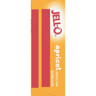 Jell-O Apricot Gelatin Mix, 3 oz Box