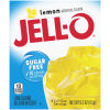 Jell-O Lemon Sugar Free Gelatin Mix 0.3 oz Box